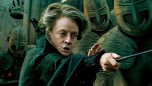 Professor McGonagall is named after the Roman goddess Minerva. Photo from www.harrypotter.wikia.com
