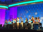 Each time a semifinalist missed a word in the semifinals, the other spellers would give him a standing ovation.