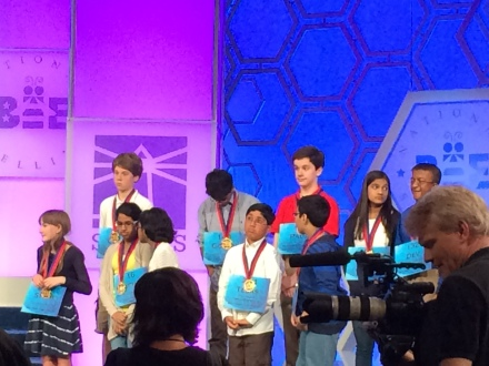 The Championship Finalists each received a medal.