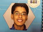 Speller #140 Gokul Venkatachalam is from Missouri. This is his 4th year at the Bee.