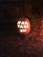 This was one of my favorite pumpkins that we saw tonight!