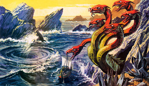 Image result for the odyssey charybdis