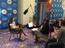 Finalists received many requests for interviews this evening!