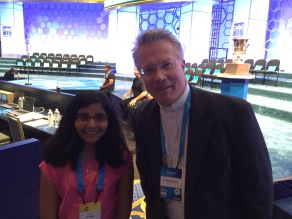 Dr. Sietsema is the Associate Pronouncer and etymology guru for the Scripps National Spelling Bee. I want his job one day!