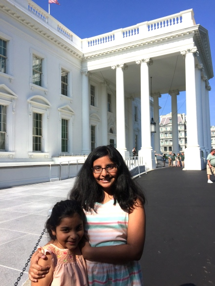 Visiting the White House was a highlight of our trip to D.C.
