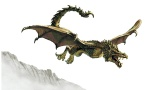 Wyverns are evil mythical creatures that closely resemble dragons.