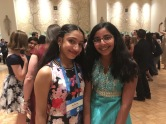 Harshita and I are both 4-time repeaters.