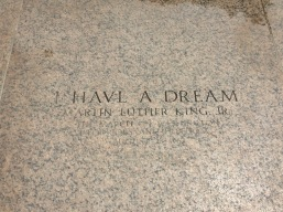 """Martin Luther King Jr. made his famous """"I Have A Dream"""" speech in front of the Lincoln Memorial."""