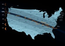 On August 21, 2017, millions of people in North America witnessed a total solar eclipse. (image from www.celestron.com)