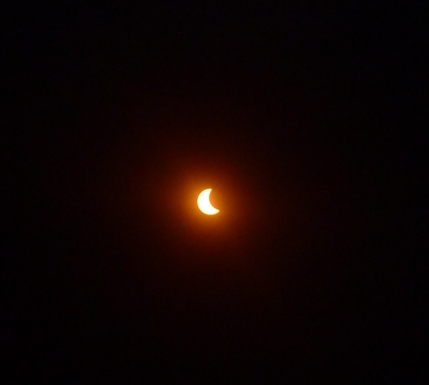 Totality took several hours to occur.