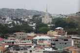 View of the Guayaquil Ecuador Temple.