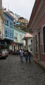Strolling through Las Peñas.